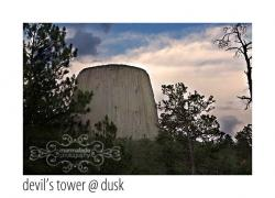 Devil's Tower @ Dusk