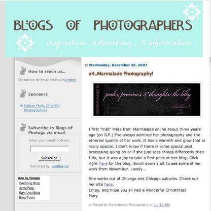 December 26 Featured Photographer
