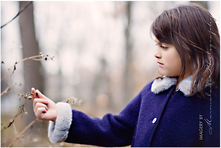 natural outdoor location child photography in chicago