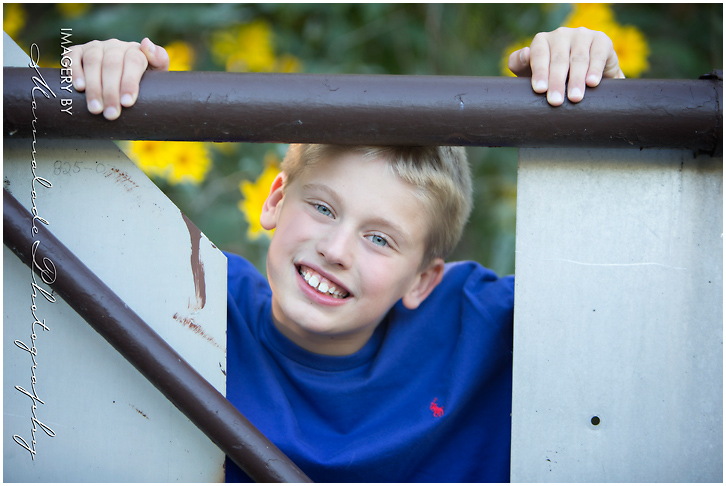 Fun photography with this young man who has a smile that can light up a room