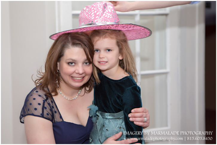 A photo of a fun moment during a Chicago area Bat Mitzvah celebration