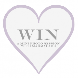 Win a photo session with Marmalade Photography