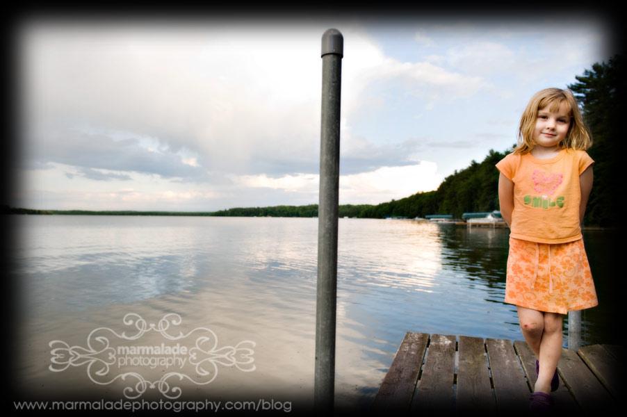Hanging out on the lake, dockside III