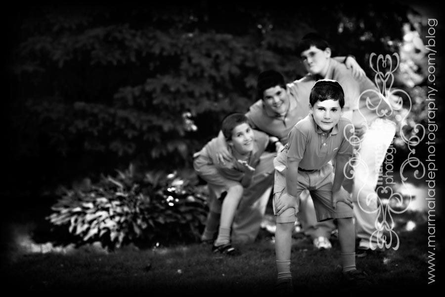 Having Fun With the Boys Family Photorapher